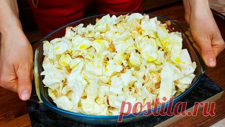 Запеченная капуста в духовке со специями: просто, вкусно и полезно | Кулинарный Микс | Яндекс Дзен