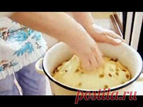 Золотая бабушка ч1. Домашняя паска кулич и домашние пирожки с вишней абрикосом Рецепт приготовления
