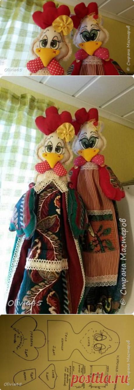 Принцессы курятника))) пакетницы, небольшой МК