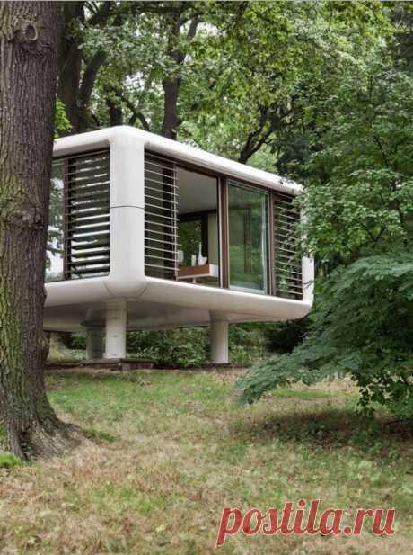 Необычный дом-куб со стеклянными стенами - Дизайн интерьеров | Идеи вашего дома | Lodgers