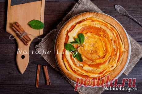 Shortcrust pie with cottage cheese