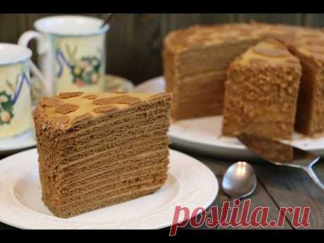 """Honey """"Коровка&quot cake;"""