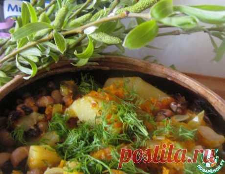 Мясные шарики с овощами в горшочке – кулинарный рецепт