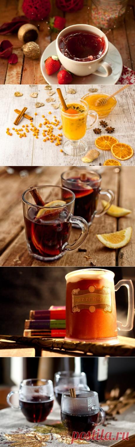 10 горячих напитков вместо обычного чая и кофе