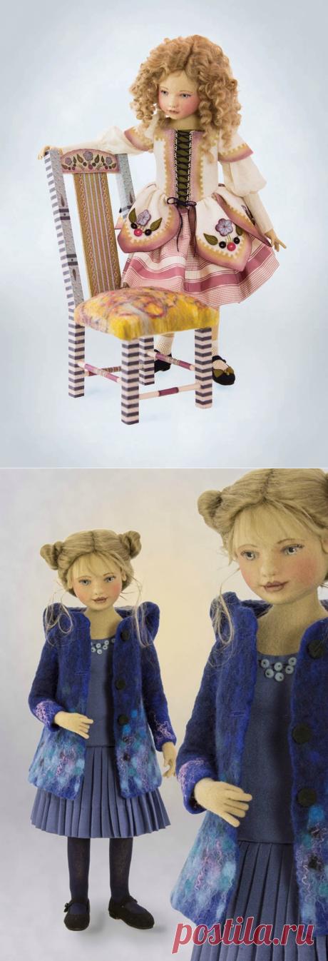 Очаровательные куклы из фетра — Рукоделие