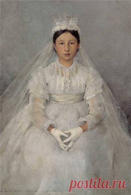 Французский художник Jules Bastien-Lepage (1848-1884)