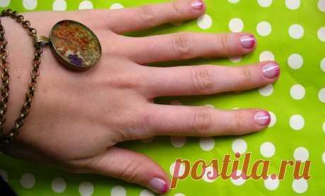 Mi manicura el semigradiente \/ el Maquillaje\/manicura \/ el sitio A la moda sobre el rehacimiento de estilo de la ropa y el interior