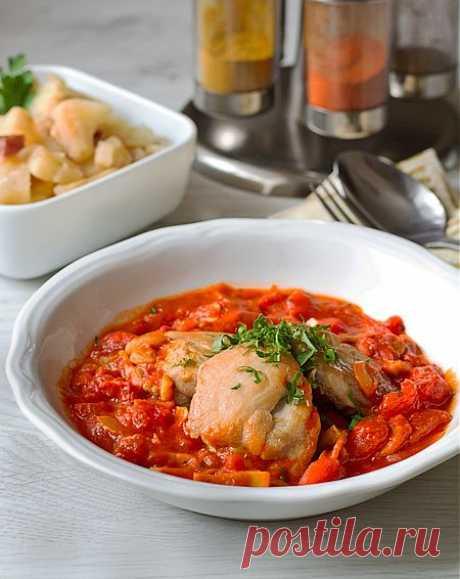 Пошаговый фото-рецепт соте из цыпленка по-португальски | Вторые блюда | Вкусный блог - рецепты под настроение