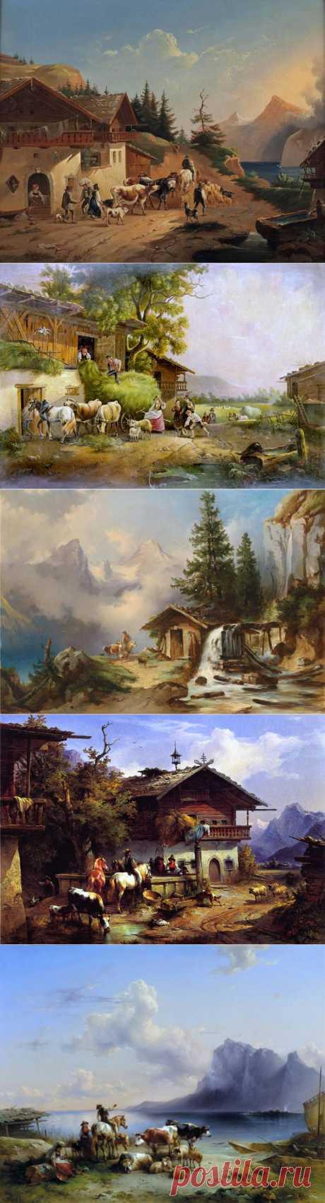 Фридрих Август Маттиас Гауэрман... | Искусство