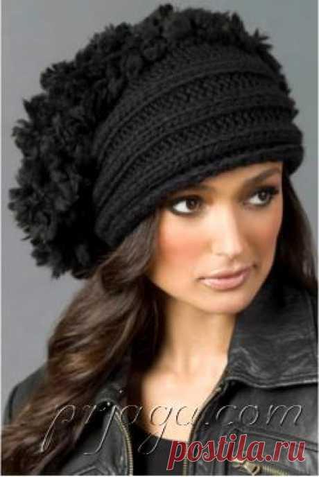 Design beret from Irina Poludnenko