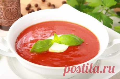 Самый простой рецепт томатного супа – пошаговый рецепт с фото.