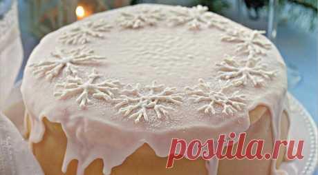 """Снежный"" cake on Gastronom.ru"