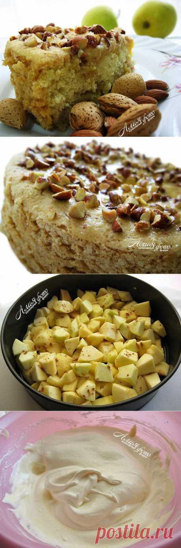Мокрый яблочный пирог - один из самый вкусных, который я когда-либо готовила.