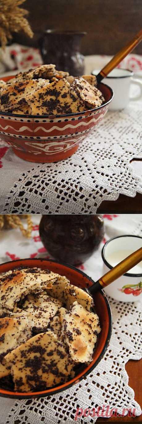 Заметки на кухонных занавесках - Маковые шулики на меду