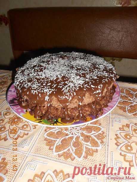 Торт из микроволновки!