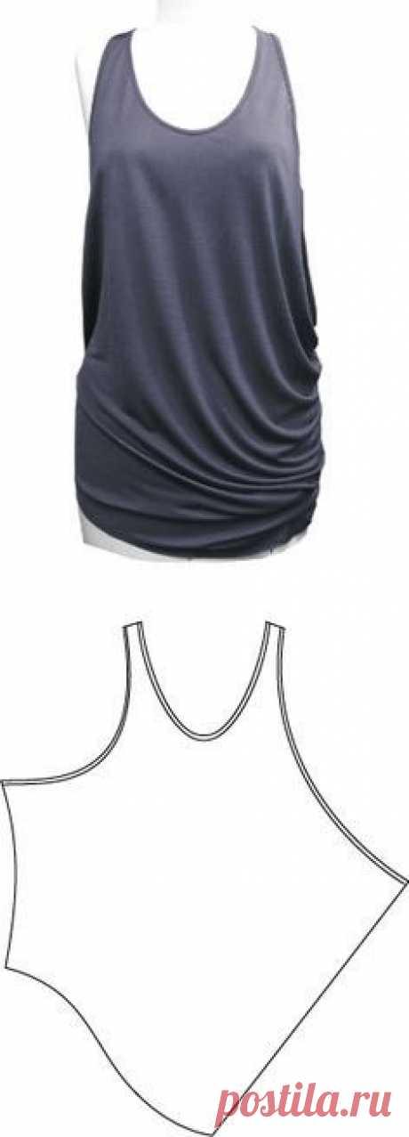 Undershirt about reabrupt \/ Simple patterns
