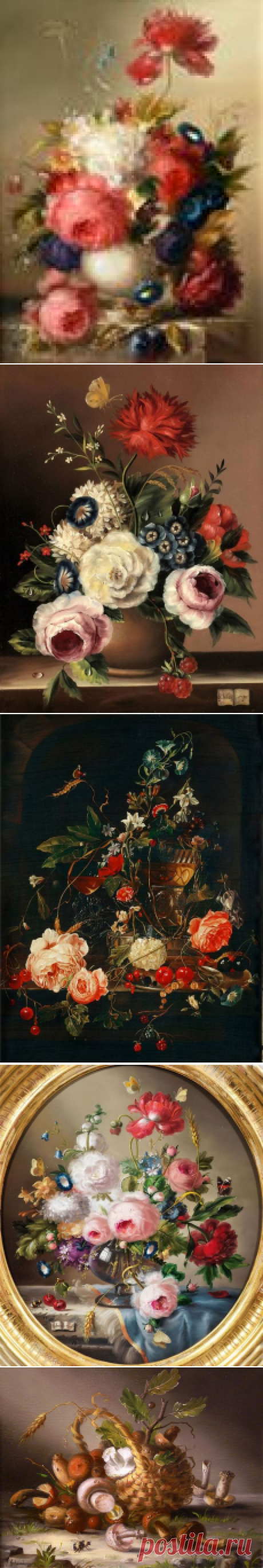 Hildegard Schwammberger - миниатюрная живопись...