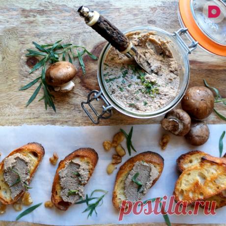 Лучший грибной паштет, рецепт приготовления от Лары Кацовой