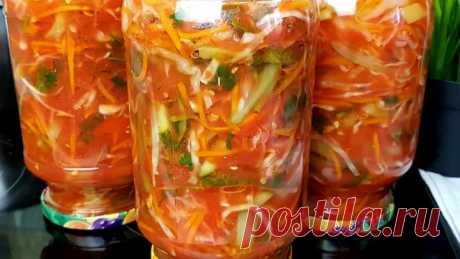 Самый Вкуснейший салат на зиму☆Многие просили проверенный рецепт Донского салата🔥🔥🔥