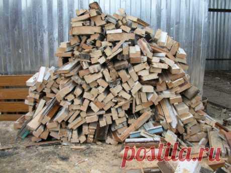 На дворе дрова...