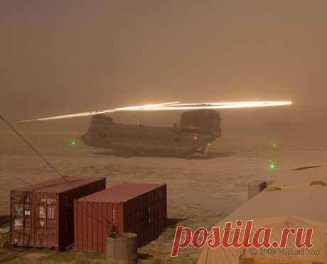 Почему лопасти вертолетов иногда внезапно начинают светиться?   Научпоп. Наука для всех   Яндекс Дзен