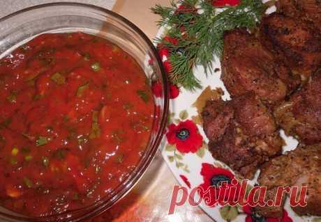 Соус к мясу и другим блюдам, который готовят в шашлычных - Советы хозяйке