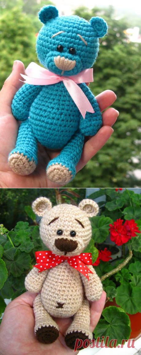 Схема вязания медвежонка Тедди