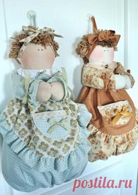Кукла для пакетов