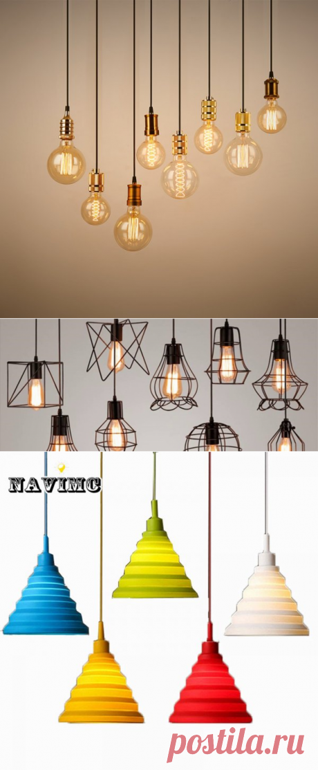 5 светильников для кухни до 500 рублей на ALIEXPRESS