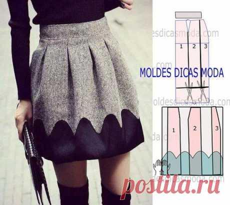 Моделируем юбку