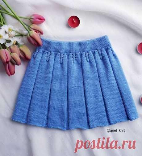 Расклешенная юбка со складочками — DIYIdeas