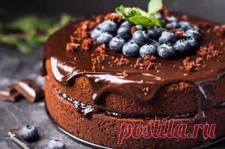 Шоколадные торты: от простого до изысканного Шоколадный торт а-ля Лоррейн Паскаль Ингредиенты: Для теста: Сливочное масло к. т. — 200 г Сахар — 150 г Мука — 140 г Яйца — 4 шт. Какао — 60 г Соль — 1 щепотка Разрыхлитель — 1 ½ ч. л. Для крема: …