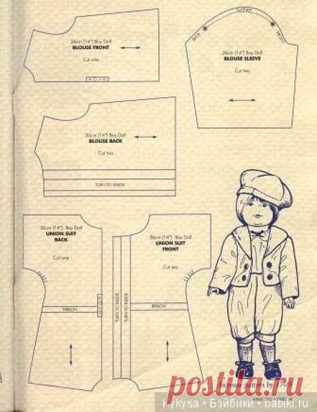 выкройка одежды на куклу мальчика: 7 тыс изображений найдено в Яндекс.Картинках