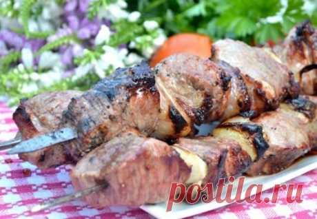 Рецепт армянского маринада для шашлыка.