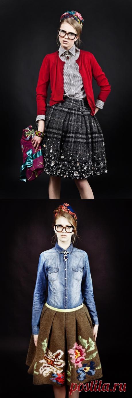 Две юбки от Stella Jean / Лукбуки / ВТОРАЯ УЛИЦА
