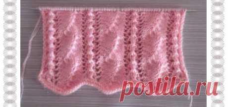 Красивый рисунок для вязания Для свитера / кардигана