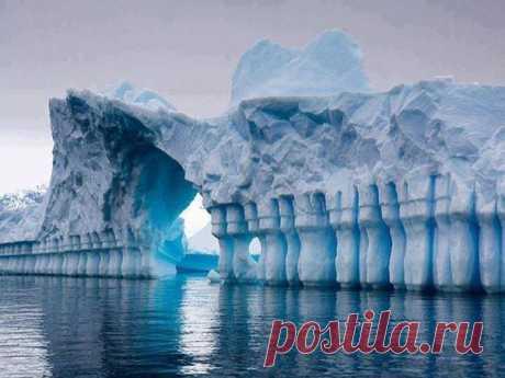Ледник Плено, Антарктида
