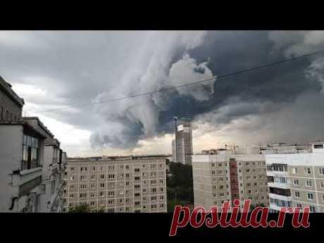 Грозовой апокалипсис над Екатеринбургом