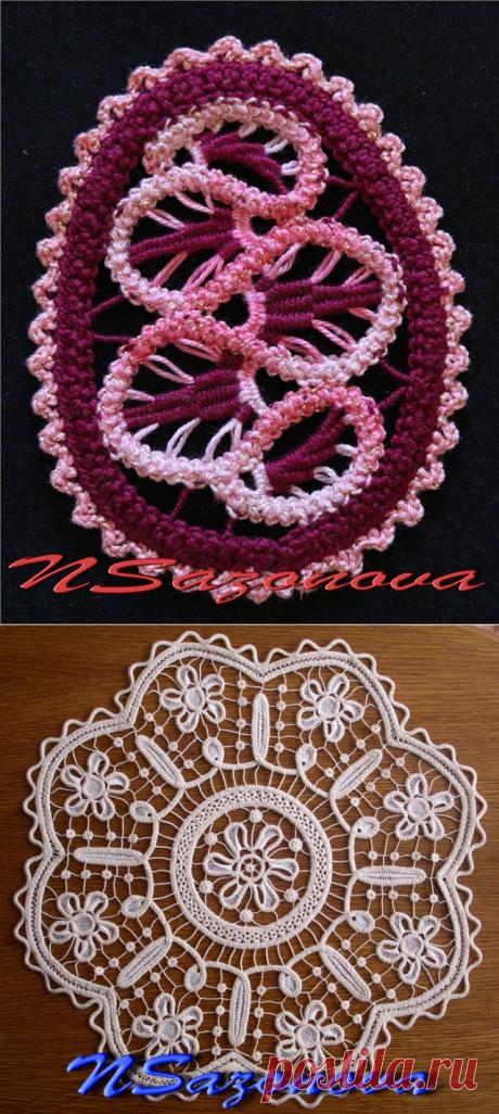 Румынское кружево в авторском исполнении — Рукоделие