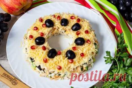 "Салат ""Надежда"" - пошаговый рецепт с фото на Повар.ру"