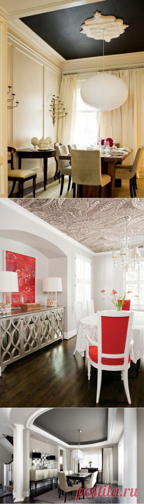 23 оригинальных идеи по оформлению потолка