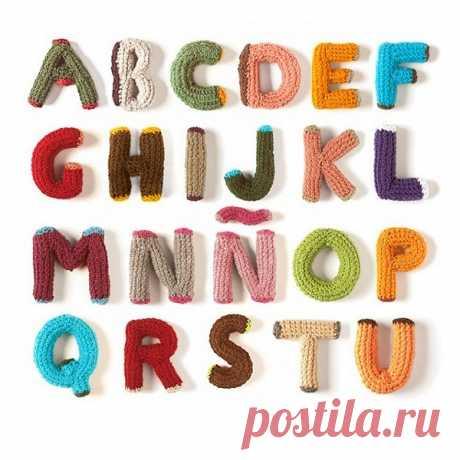 Как сделать алфавит своими руками. Схемы, описания, идеи