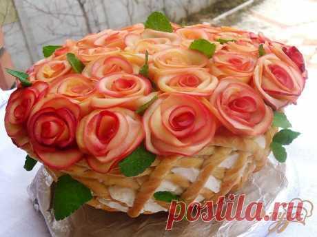 Торт Букет для женщин - пошаговый рецепт с фото Этот праздничный торт я посвящаю всем женщинам нашего любимого сайта и поздравляю с приходом весны! Пусть в вашей жизни, в сердце, в душе растает лед и распустятся цветы!
