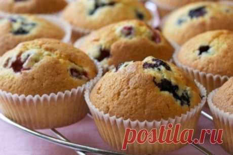 Домашние кексы. 8 рецептов