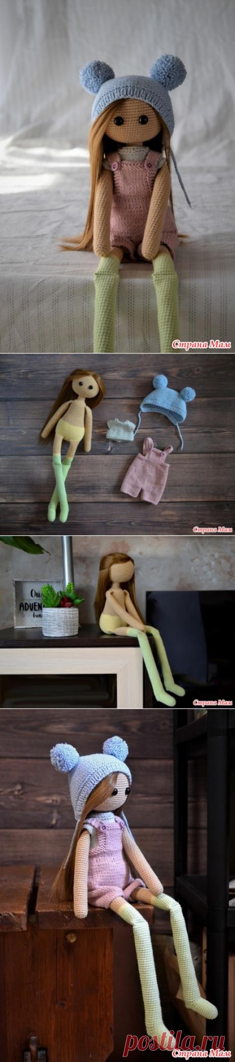Вязаная кукла тильда в комбинезоне - Вязание - Страна Мам