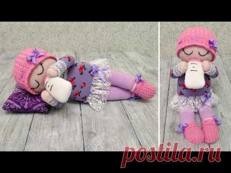 Малышка из носков, от которой дети будут в восторге