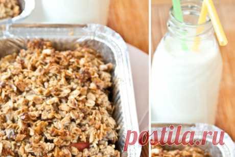 Яблоки под овсяной корочкой - пошаговый рецепт фото | Диетические низкокалорийные рецепты - блюда правильного питания на Dietplan.ru