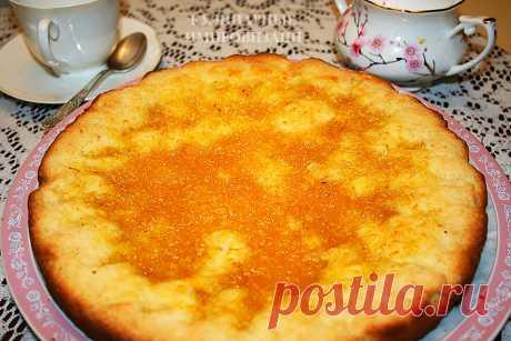 Вот такой лимонный пирог готовила моя двоюродная бабушка   Кулинарные импровизации   Яндекс Дзен
