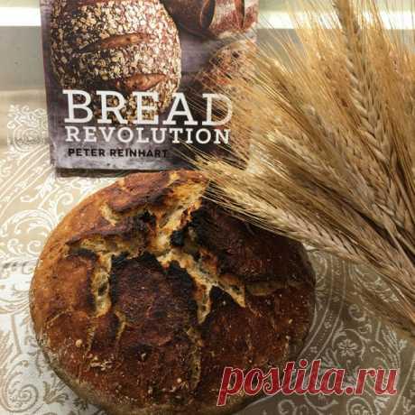 Мой первый хлеб на закваске