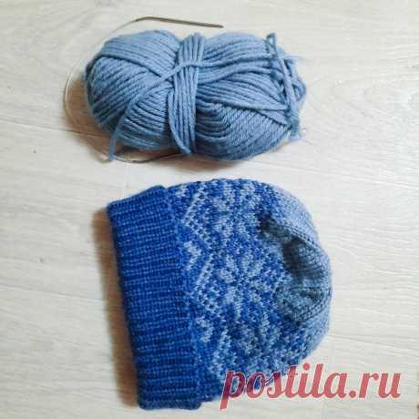 Как связать шапку со снежинкаии | Студия Hand Made | Яндекс Дзен